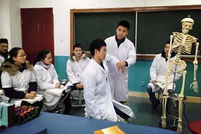 康复治疗技术专业-老师教学