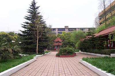 达州职业技术学院老校区校园风景